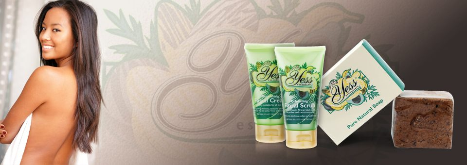 Pure Natural Soap and Exfoliating Facial Scrub
