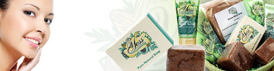 Pure Natural Soap made with African Black Soap and Shea Butter